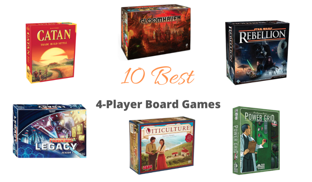 Best 4 Player Board Games Reviewed