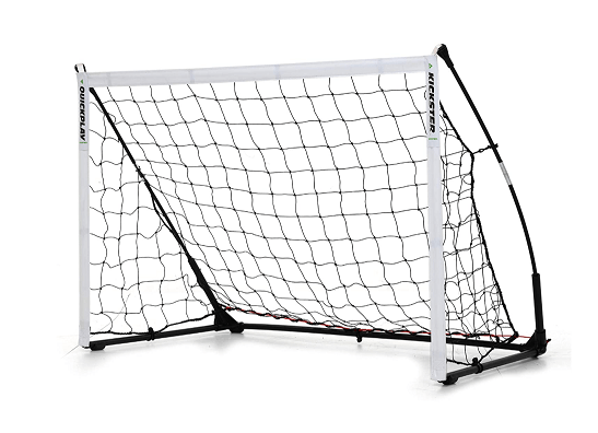 QuickPlay Kickster Elite Portable Soccer Goal with Weighted Base