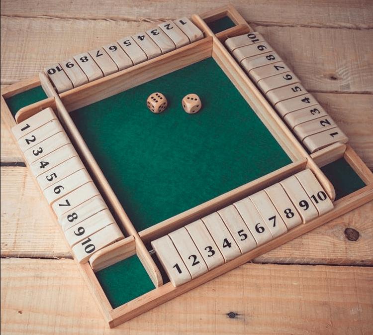 Shut The Box Board Games