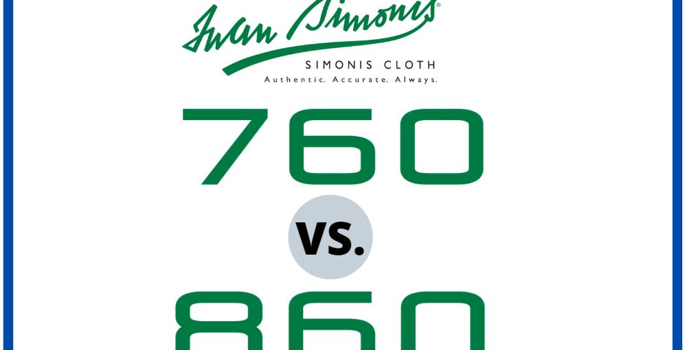 Simonis 760 vs 860