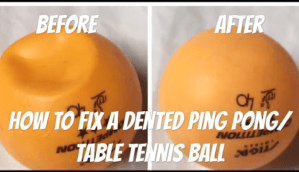 Dented Ping Pong Ball