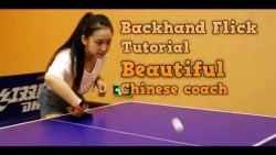 How to Backhand Flick in Table Tennis