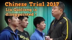 Chinese Table Tennis: Liu Guoliang Comments in Trial WTTC 2017