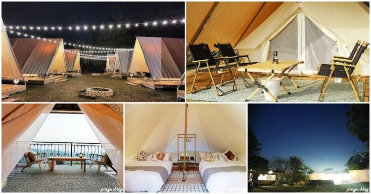 台中住宿|蟬說山中靜靜 一泊二食豪華露營 全包式懶人露營好放鬆