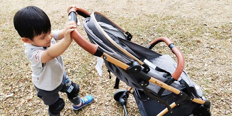 嬰兒推車推薦|BabyTW歐式推車 快速折疊 行李箱拉桿超方便 媽咪們的好幫手