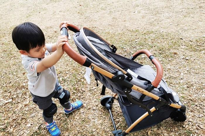 嬰兒推車推薦 BabyTW歐式推車 快速折疊 行李箱拉桿超方便 媽咪們的好幫手