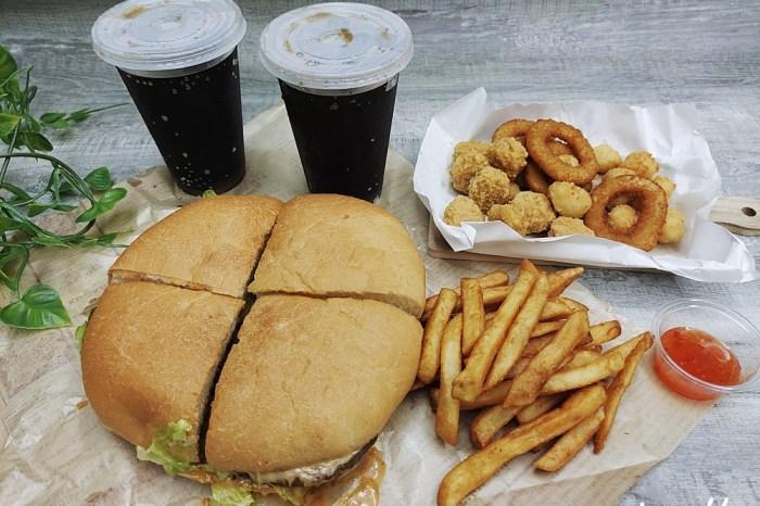 彰化員林|博格星Burger Planet 美式主題餐廳 貓咪也愛吃大漢堡~愛貓者請進唷