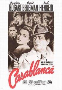 L'affiche originale du film «Casablanca»