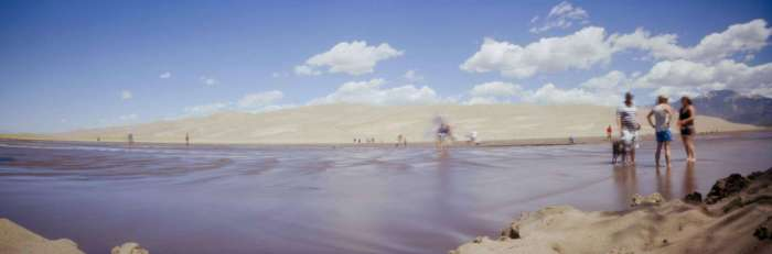 Great Sand Dunes, Colorado (Clipper 6x18, Ektar 100)