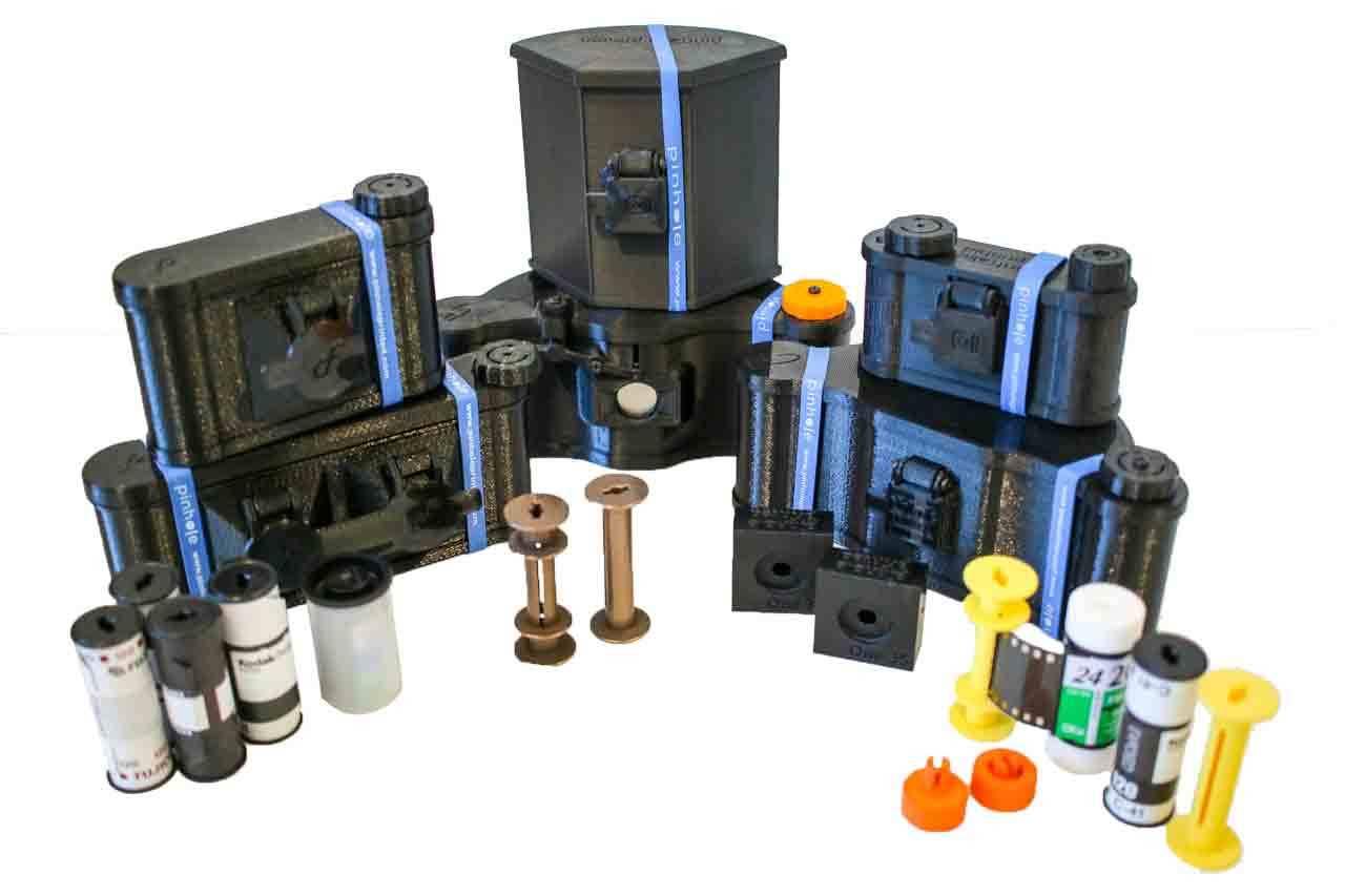 Pinhole Printed Cameras