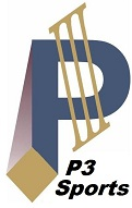 Logo P3 Sports only smaller website