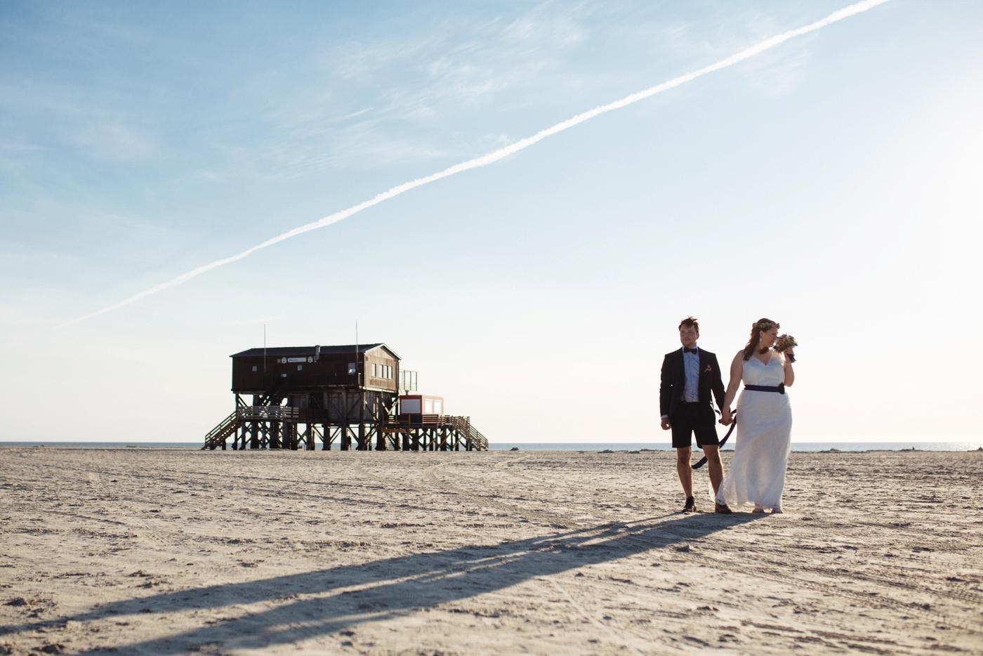 Hochzeit Sankt Peter Ording Strandhtte  Pink Pixel Photography