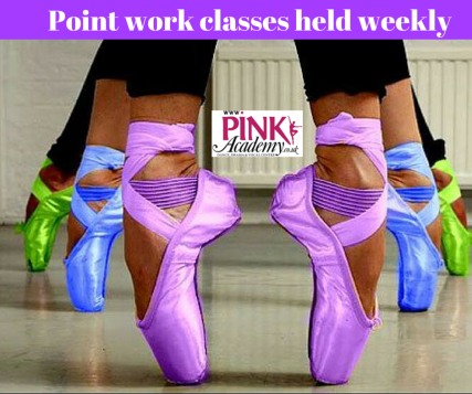 Point work classes held weekly