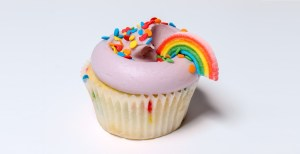 rainbow cake cupcake asexual asexuality pride