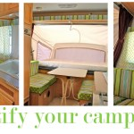 Prettify Your Camper Pink Polka Dot