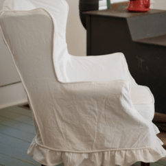 How To Make A Slipcover For Sofa Chair Bed Baby Girl Friday's Featured Slipcovers And Discount – Pink & Polka Dot