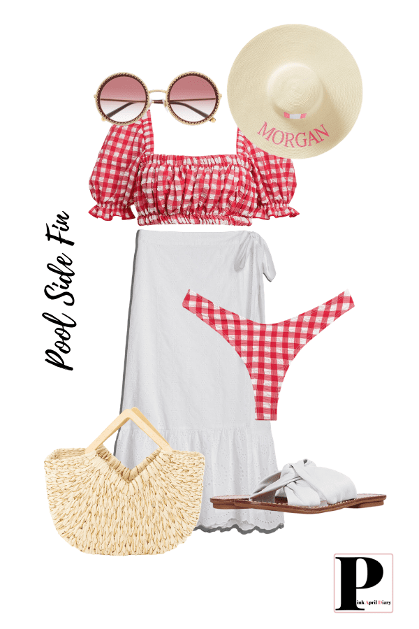 4th Of July Outfits - Pool Side Fun