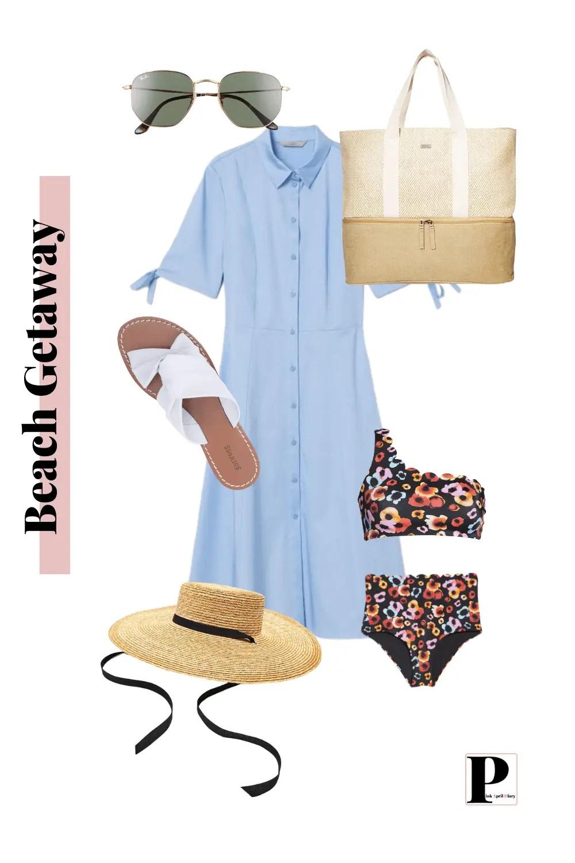 Weekend Getaway - Beach Vacation - Outfit 2