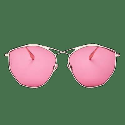 Dior Women's Stellaire Mirrored Geometric Sunglasses