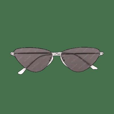 Balenciaga Invisible cat eye-frame sunglasses