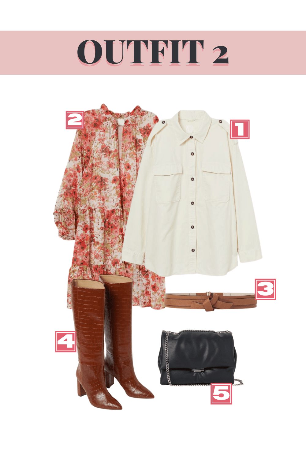 H&M Fall Top Picks - Outfit 2