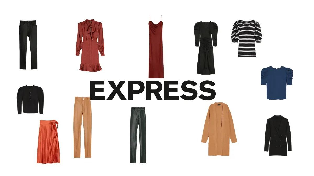 Under$100 Express fall favorites