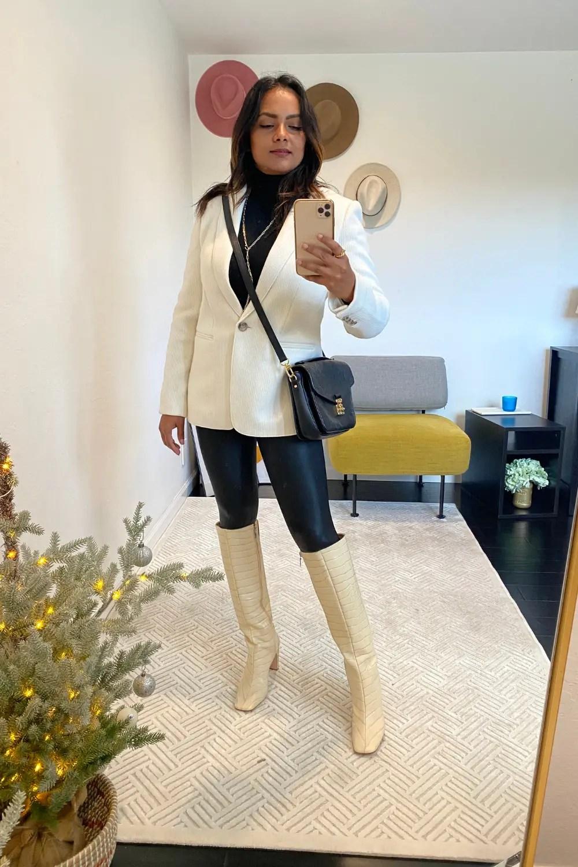 Wool Blazer Winter Outfit