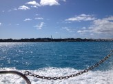 Tynes Bay from the sea