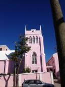 A pink Church in Hamilton