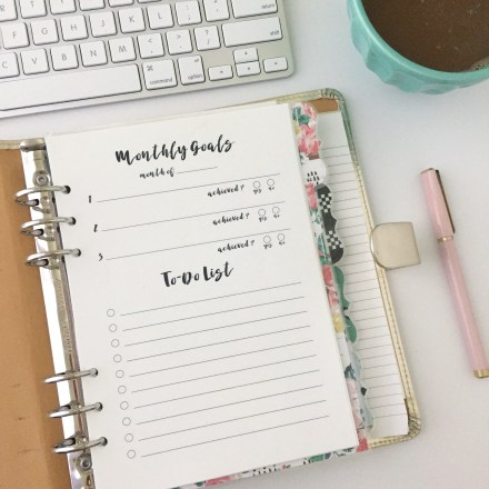 To-Do List Roundup: Free Planner Printables - Pink Bows & Twinkle Toes