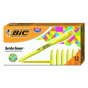 Bic Brite Liner - Top 5 School Supplies