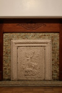fireplace covers | A Pink Brownstone in Brooklyn