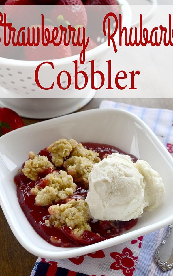 strawbery rhubarb cobbler2