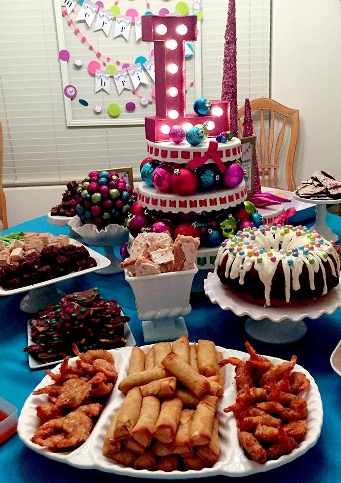 merry bright birthday party