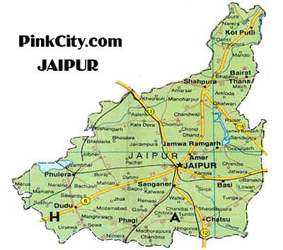 Area Of Jaipur Pinkcity Voice of Jaipur