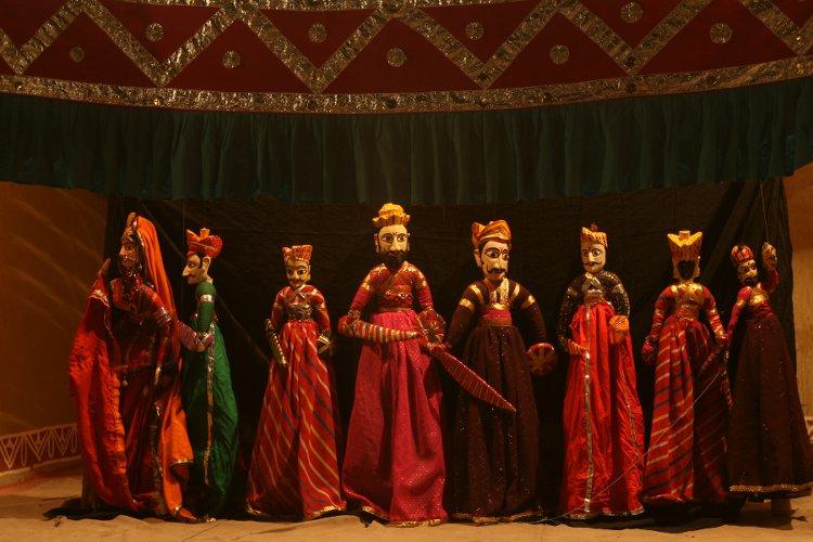 jaipur_chokhi_dhani_puppet_show