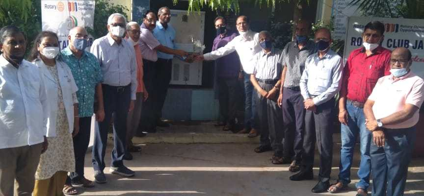 Water cooler presented to Naturopathy Hospital Bapunagar