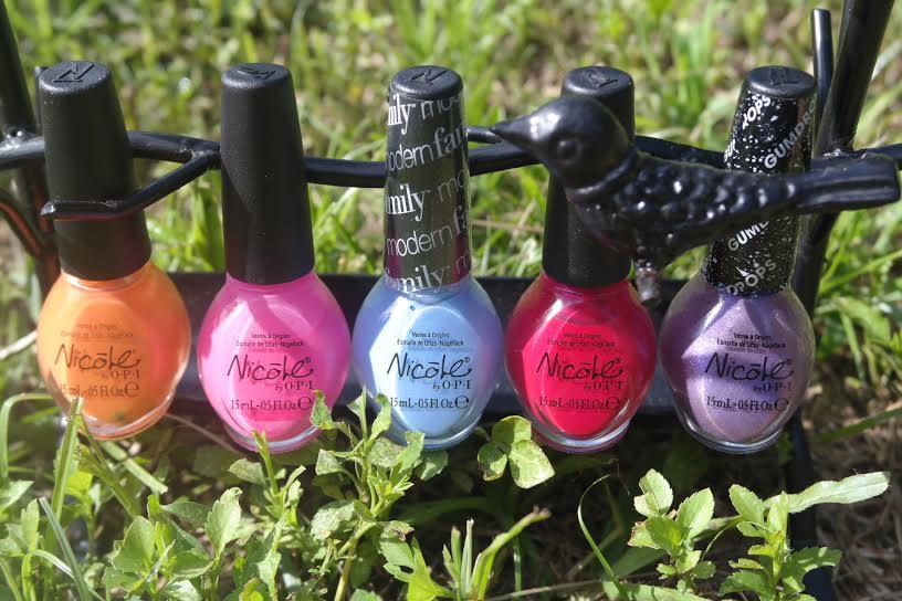 My Top 5 O.P.I Summer Nail Colors