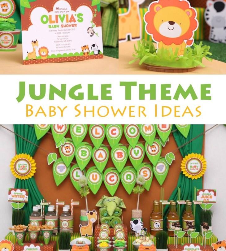 Pin It on Pinterest. Jungle Theme Baby Shower Ideas