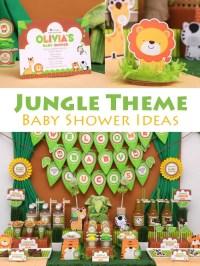 Jungle Theme Baby Shower Ideas