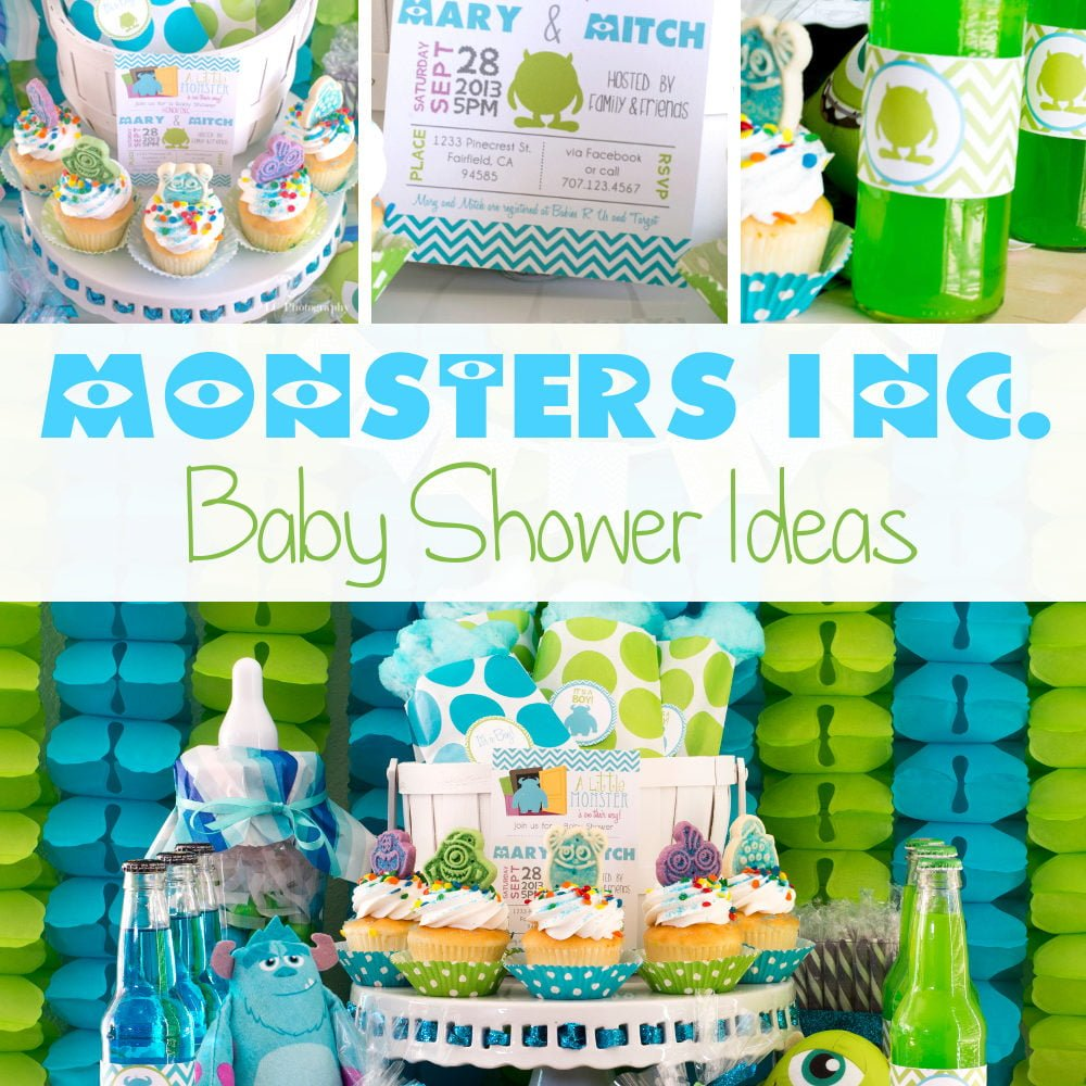 Monsters Inc. Baby Shower Ideas