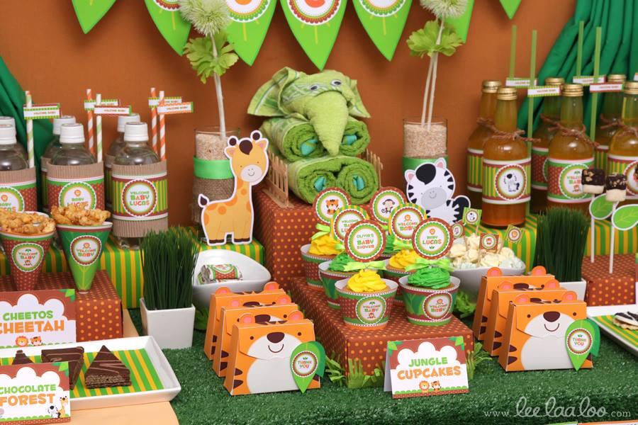 Safari Baby Shower Food Ideas