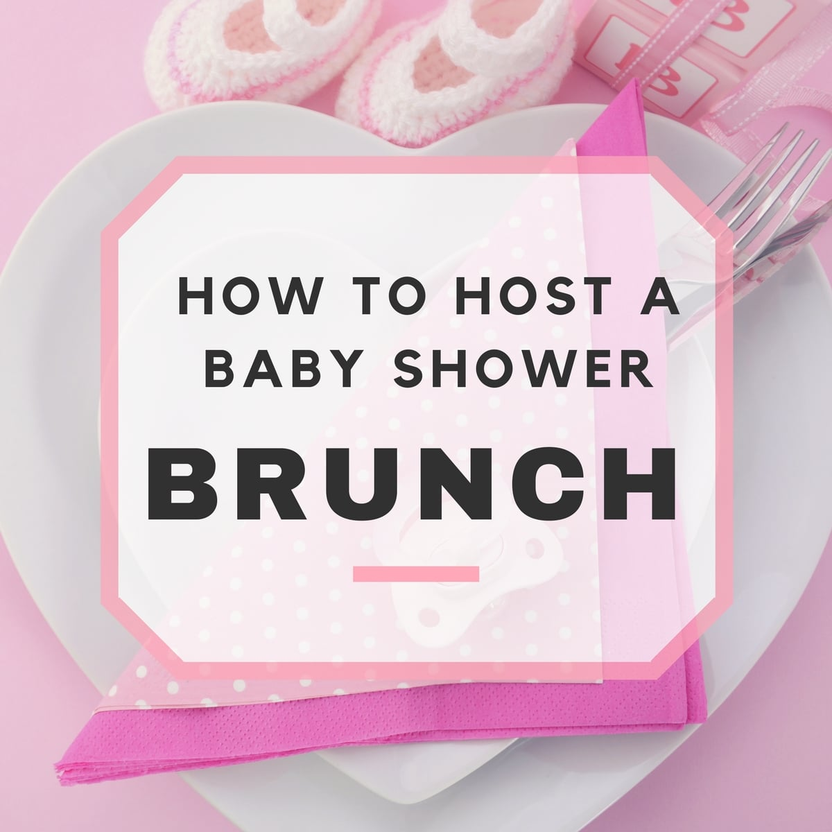 Baby Shower Brunch Ideas & Sample Menu