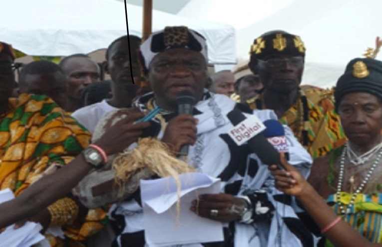 Paramount Chief of Edina in the Central Region