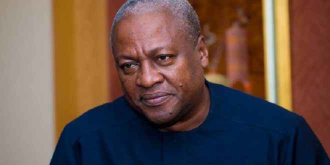 Mahama moves to amend his application for review of ruling on interrogatories