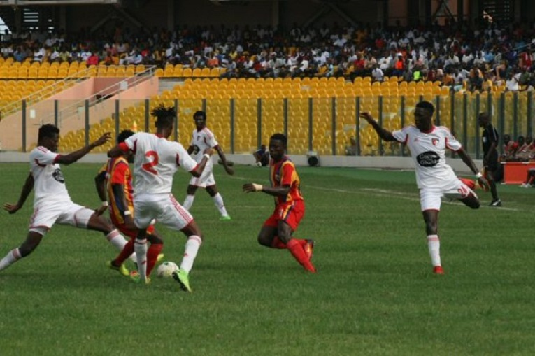 NC Special Cup Hearts put four past WAFA, Medeama remain top of Zone A