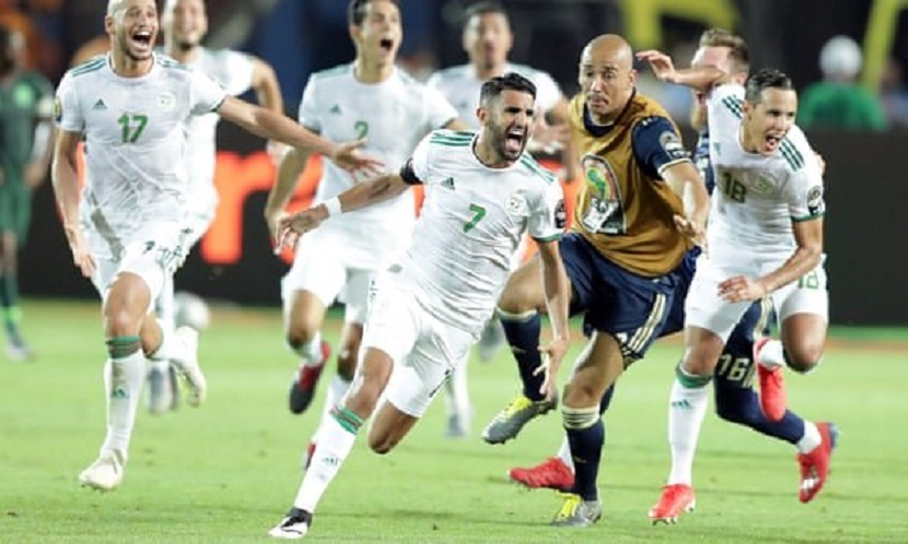 AFCON 2019 Mahrez scores late winner to put Algeria into final