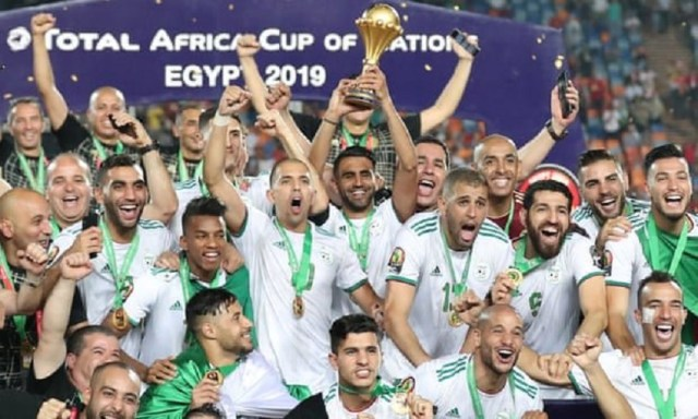 Algeria win Africa Cup of Nations with fortuitous early goal