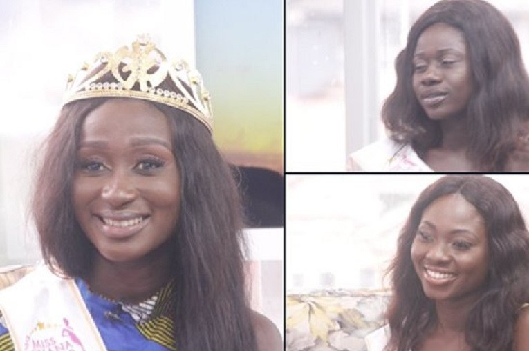 Miss Ghana winners trend after being labelled ugly