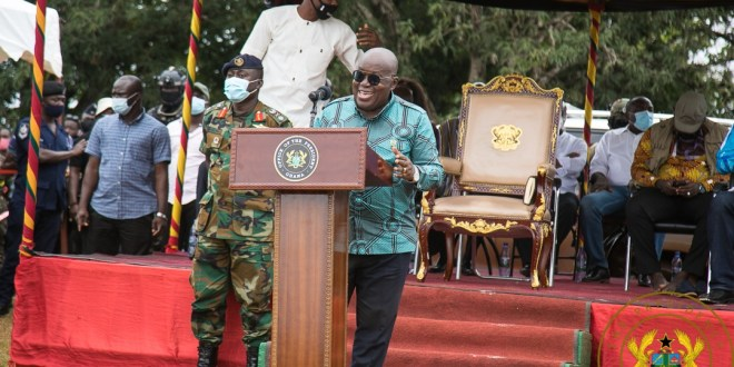 Mahama can't be trusted, he is inconsistent and flip-flops – Akufo-Addo